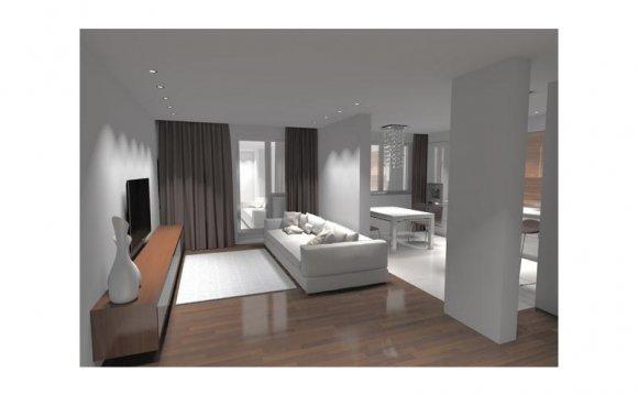 Дизайн интерьера квартир в