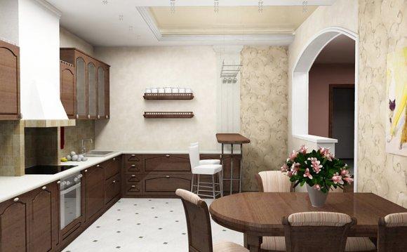 дизайн интерьера 3 комнатной