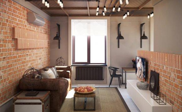 Дизайн интерьера квартиры 37