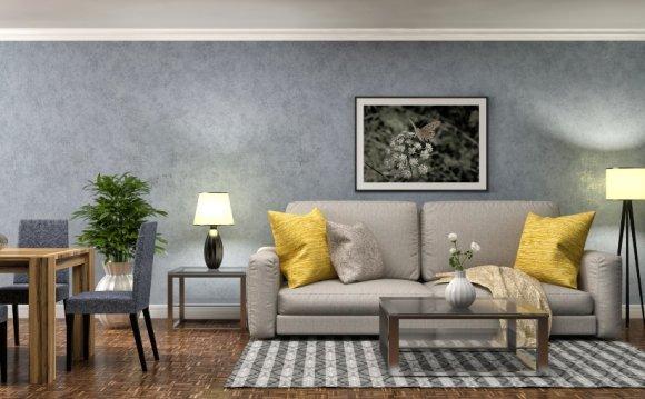Дизайн интерьера однокомнатной