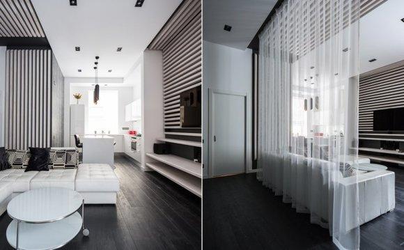 Дизайн квартиры-студии — фото