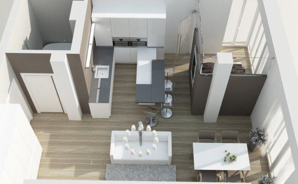 Дизайны однокомнатных квартир
