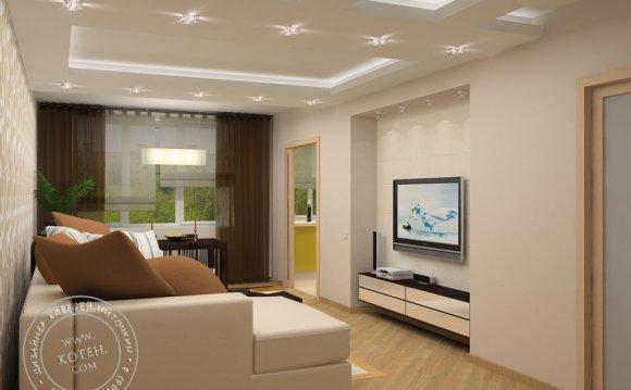 Проект дизайна квартиры 3